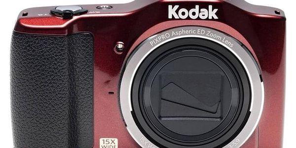 Digitální fotoaparát Kodak Friendly Zoom FZ152 červený4