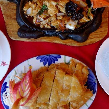 Menu dle přání v čínské restauraci pro 2 osoby