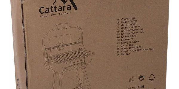 Cattara Gril na dřevěné uhlí Trapani, 46 cm3