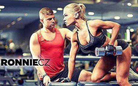 60min. lekce fitness s trenérem + tréninkový a výživový plán