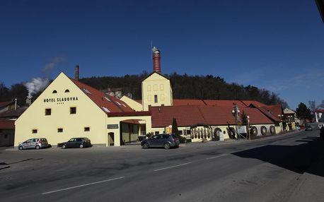 Vhodné (nejen) pro milovníky piva: Hotel Sladovna