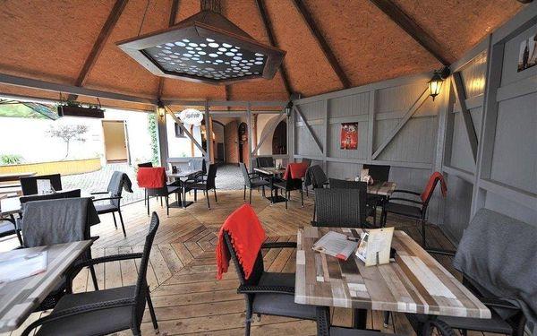 Tatarák ze zadního hovězího v moderní restauraci v centru Klatov5