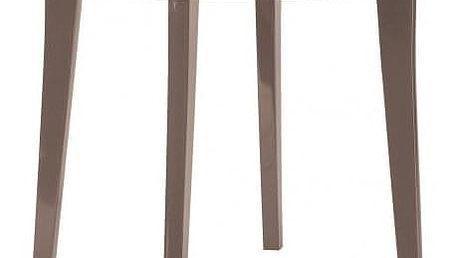 Allibert LISA 35574 Plastový kulatý stůl - cappuccino