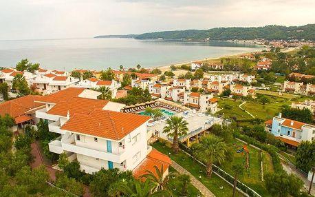 Řecko - Chalkidiki na 10 až 11 dní, polopenze s dopravou autobusem, 250 m od pláže