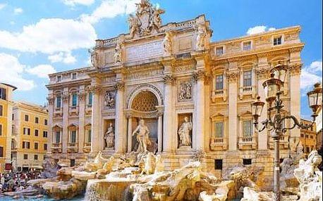 Památkový Řím s koupáním v Ostii - 5 denní poznávací zájezd