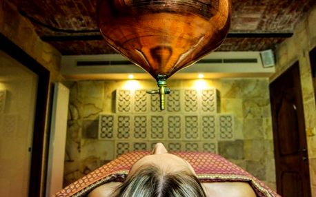 Ajurvédská masáž třetího oka