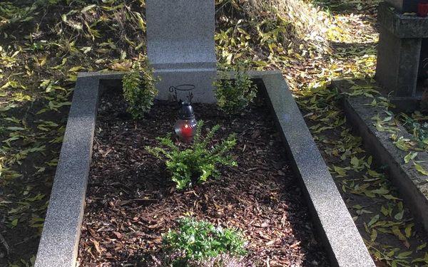 Nadstandardní služba: úklid hrobu jednorázově, ale i 4x za rok5