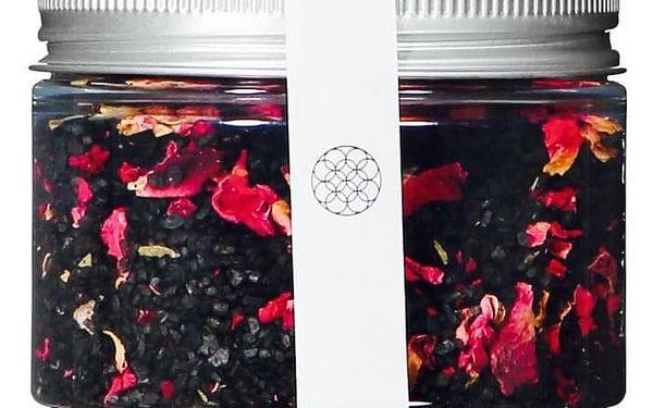 ADD:WISE Havajská černá lávová sůl s lístky růže 135g, černá barva, plast2
