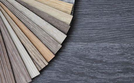 Vinylová podlaha s click systémem: 499 Kč/m²