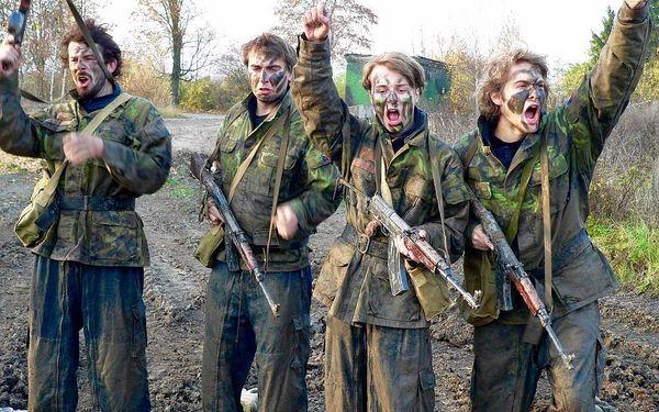 Armádní výcvik, cca 3 hodiny, počet osob: 1 osoba, Milovice (Středočeský kraj)4