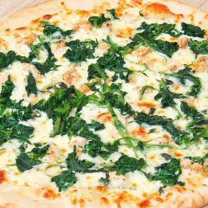 Dvě Maníkovy pizzy podle výběru z 25 druhů