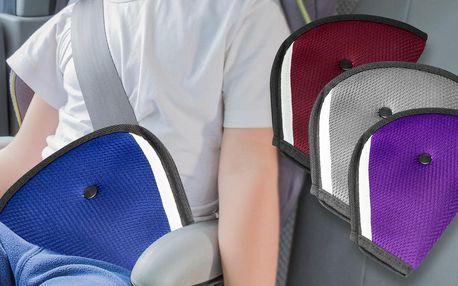 Návlek na bezpečnostní pás pro děti: šedý i bordó