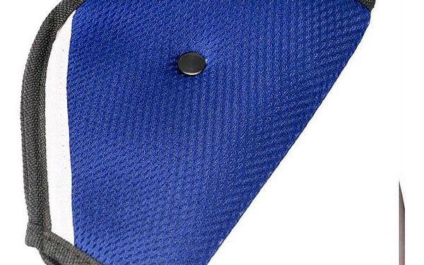 Měkčený návlek na bezpečnostní pás pro děti: šedý, modrý, bordó i fialový3