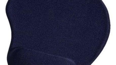 Podložka pod myš Hama Ergonomická gelová, 20 x 23 cm modrá (54778)