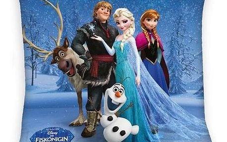 Herding Polštářek Ledové království Frozen Sven blue, 40 x 40 cm