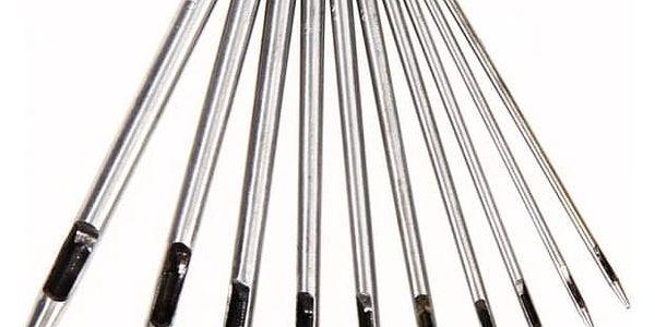 Sada nástrojů na děrování kůže - 10 kusů