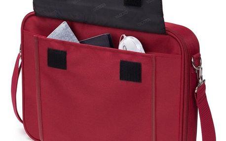 Brašna na notebook DICOTA Multi BASE 15 - 17.3 červená (D30917)