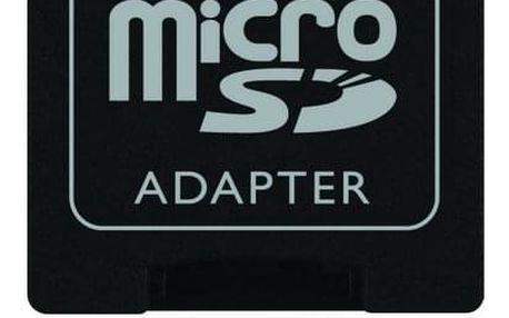 Paměťová karta Kingston MicroSDHC 16GB Class 4 + adapter (SDC4/16GB)