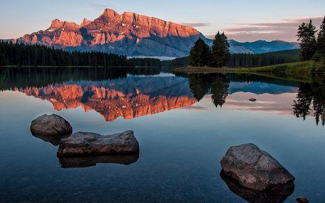Národní parky západní Kanady - 12 dní s dopravou, ubytováním a snídaní