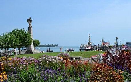 Německo - Bodamské jezero s rájem květin - 4 dny s ubytováním, dopravou a snídaní