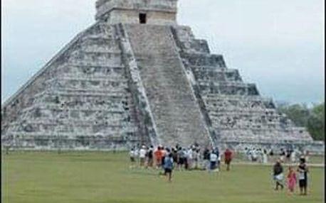 Mexiko země tajuplných pyramid - 13 dní s ubytováním, dopravou a snídaní