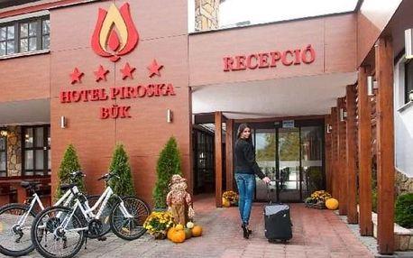 Maďarsko - Bük - Hotel Piroska - 6 dní / 5 nocí s polopenzí