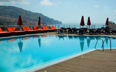 Madeira - Funchal na 8 dní, snídaně s dopravou letecky z Prahy, 500 m od pláže