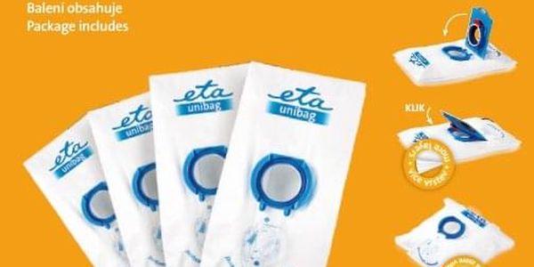 Sáčky do vysavače ETA UNIBAG 9900 68000 bílý/modrý3