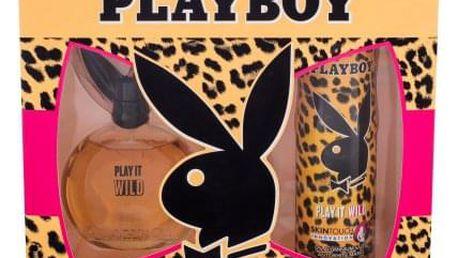 Playboy Play It Wild For Her dárková kazeta pro ženy toaletní voda 90 ml + deodorant 150 ml