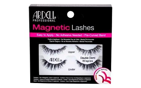 Ardell Magnetic Lashes Double Demi Wispies 1 ks magnetické řasy pro ženy Black