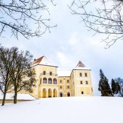 Letovice: pobyt s polopenzí v Hotelu Dermot *** u zámku a Moravského krasu