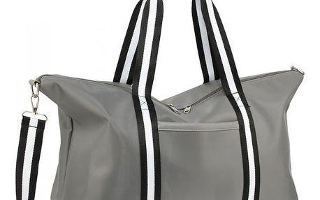 Dámská šedá cestovní taška Linny 0021