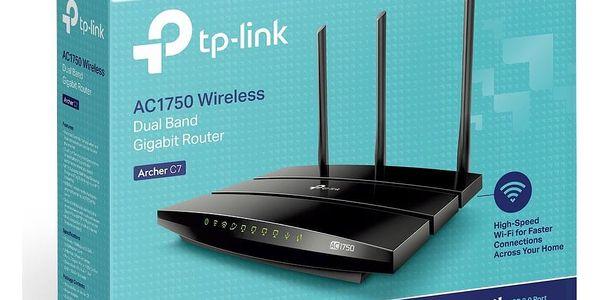 Router TP-Link Archer C7 AC1750 + IP TV na 1 měsíc ZDARMA (Archer C7) černý + DOPRAVA ZDARMA2