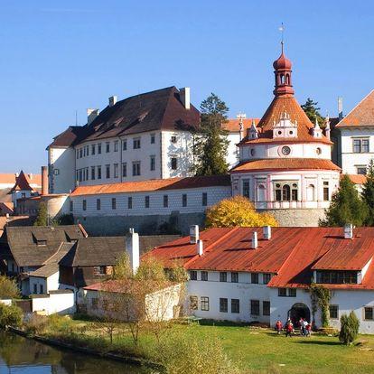 Romantika v jižních Čechách se saunou i masáží