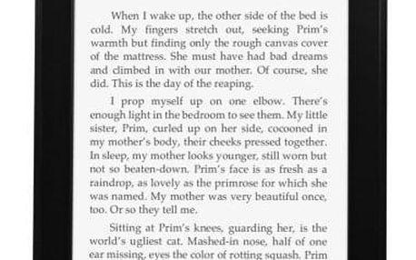 Čtečka e-knih Amazon KINDLE PAPERWHITE 3 2015 s reklamou (EBKAM1139) černá