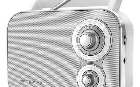 Radiopřijímač MUSE M-051 RW bílý