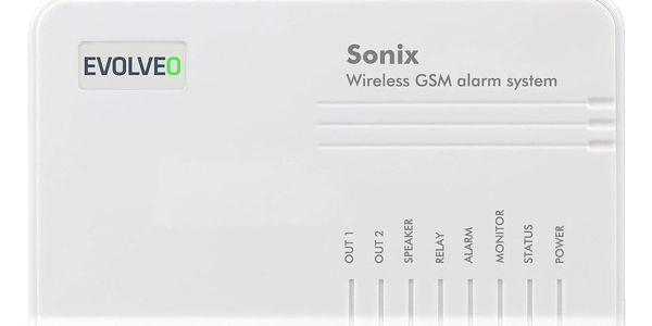 Alarm Evolveo Sonix, bezdrátový, GSM (ALM301) bílý2