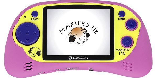 Herní konzole GoGEN Maxipes Fík MAXI HRY 150 P růžová5