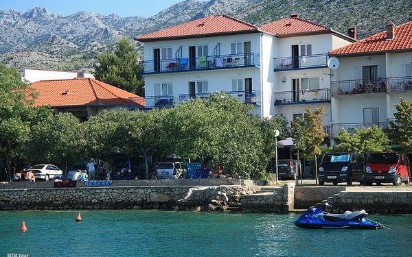 Penzion Delfín, Dalmácie, Chorvatsko, autobusem, polopenze