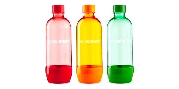 Láhev SodaStream TriPack ORANGE/RED/GREEN