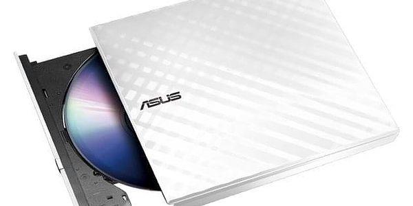 Externí DVD vypalovačka Asus SDRW-08D2S Lite (90-DQ0436-UA161KZ) bílá2