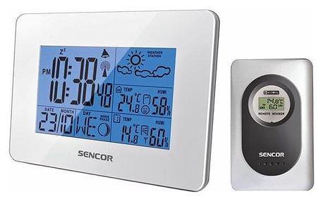 Meteorologická stanice Sencor SWS 51 W bílá