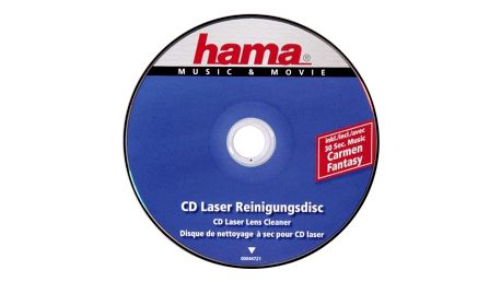 Čisticí CD, DVD, miniDV Hama Čistící disk CD, 1ks (44721)
