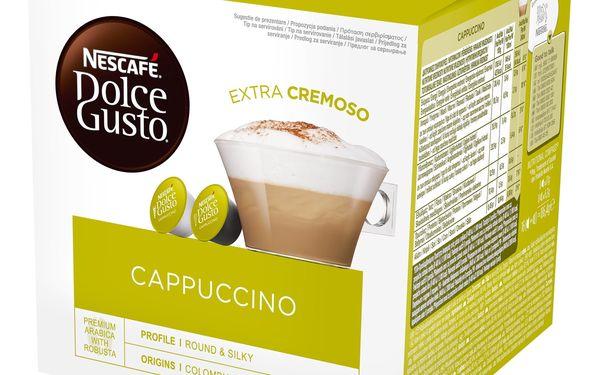 Kapsle pro espressa NESCAFÉ Dolce Gusto® Cappuccino kávové kapsle 16 ks3