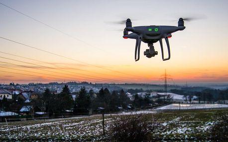Půjčení dronu dle výběru včetně školení