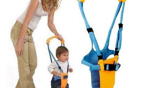 Dětské chodítko - modrožluté