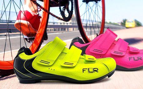 Cyklistické tretry značky FLR ve 3 barvách