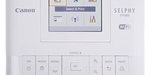 Fototiskárna Canon Selphy CP1300 + papíry KP-36 bílá2