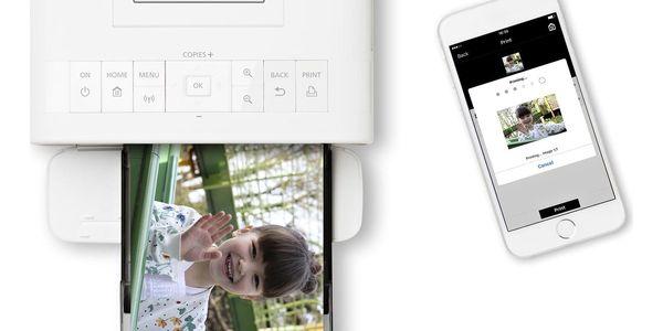 Fototiskárna Canon Selphy CP1300 + papíry KP-36 bílá5