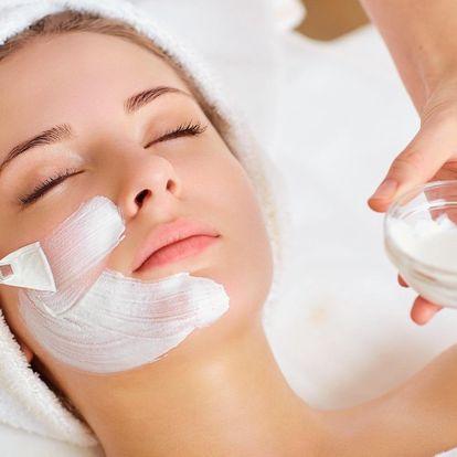 Luxusní kosmetické ošetření pleti vč. masáže